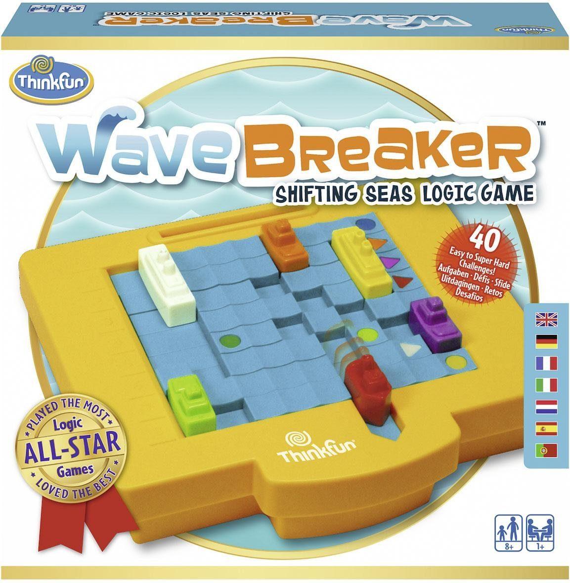 Thinkfun® Logikspiel, »Wave Breaker™«