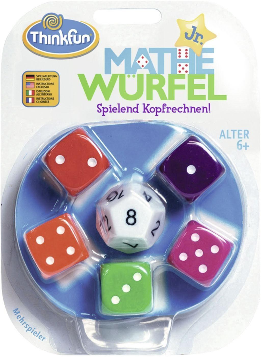 Thinkfun® Würfelspiel, »Mathe Würfel Junior«