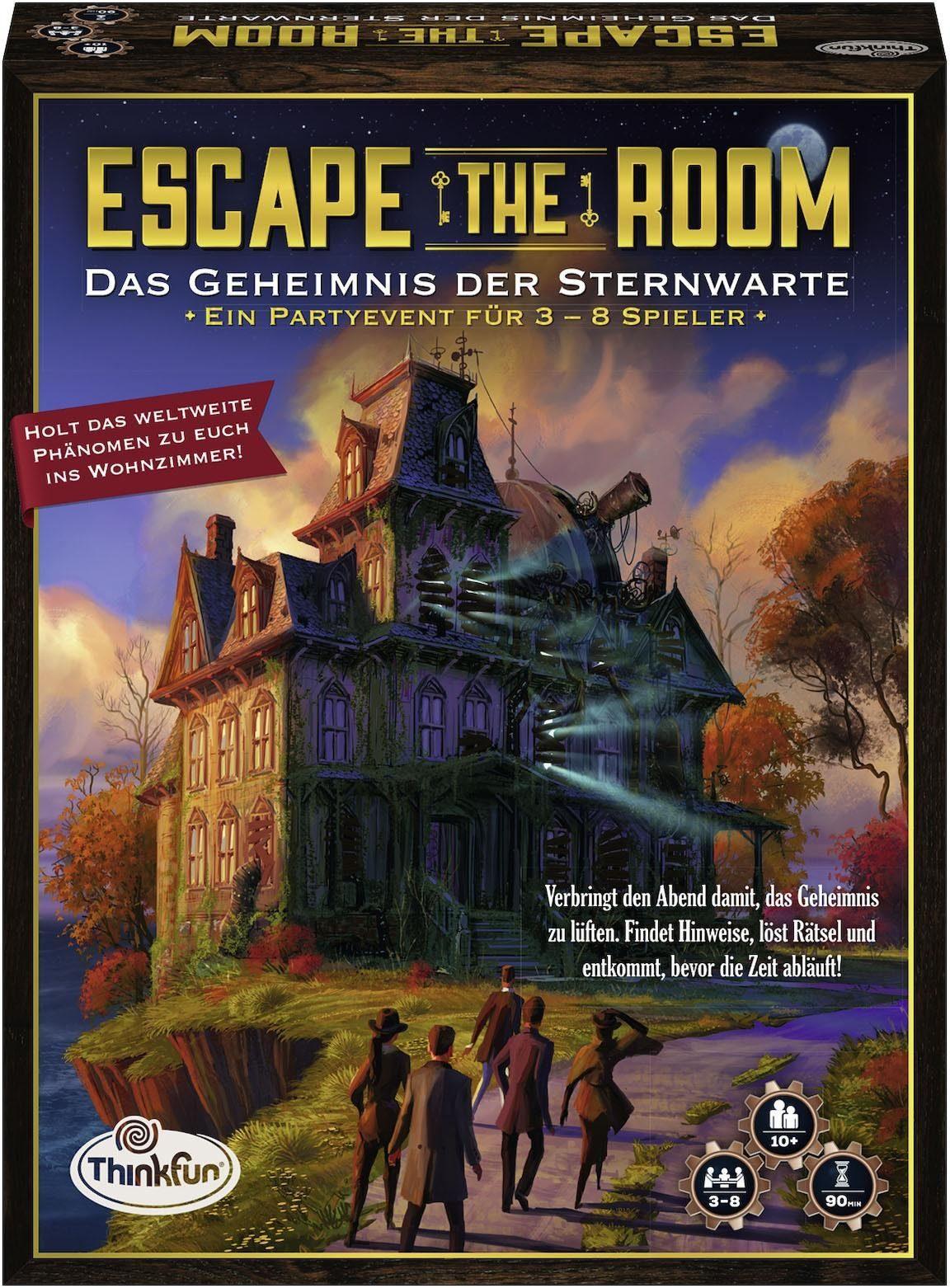 Thinkfun® Geschicklichkeitsspiel, »Escape the Room - Das Geheimnis der Sternwarte«