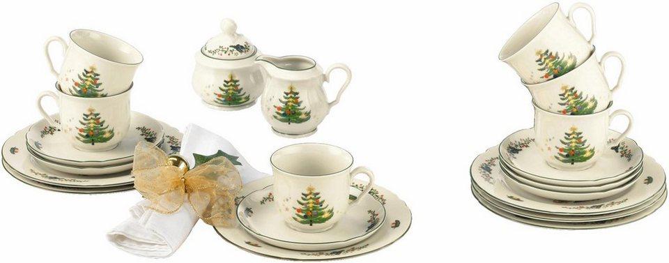 Porzellan Weihnachten.Seltmann Weiden Kaffeeservice Marieluise Weihnachten 20 Tlg Porzellan Mikrowellengeeignet Online Kaufen Otto