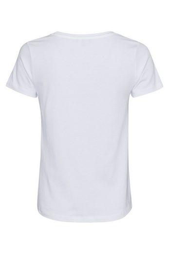 MORE&MORE T-Shirt, Paillettenschrift