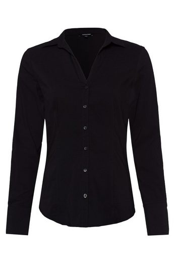 MORE&MORE Businessbluse, schwarz