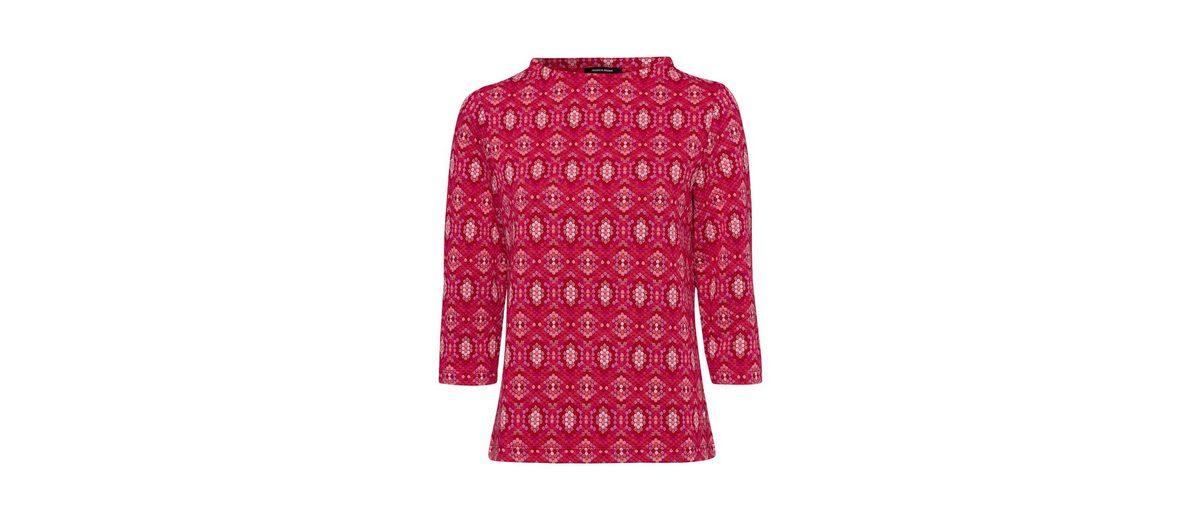 MORE&MORE Jerseyshirt, Jacquard