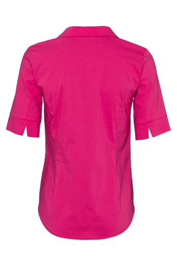 MORE&MORE Baumwoll/Stretch Bluse, bright pink