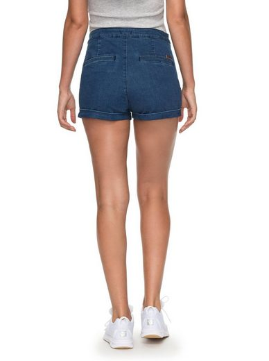 Roxy High Waist Jeansshorts Nautical Anchor