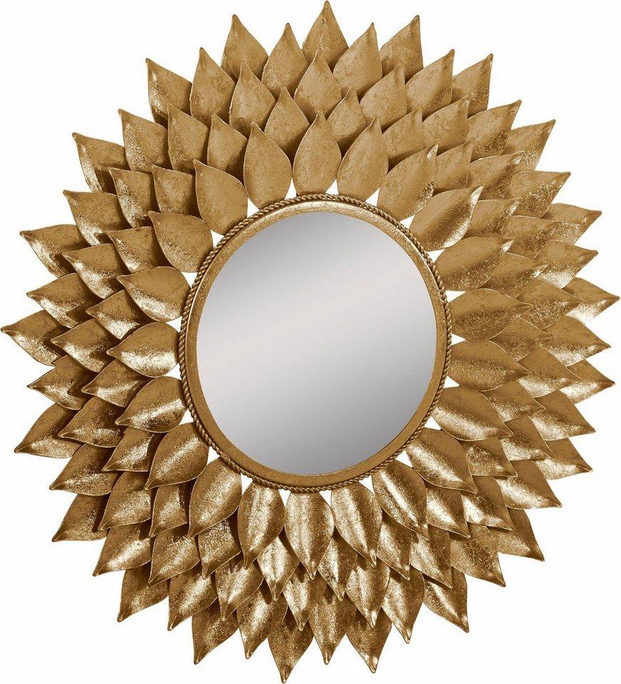 premium collection by home affaire spiegel mit blattgold. Black Bedroom Furniture Sets. Home Design Ideas