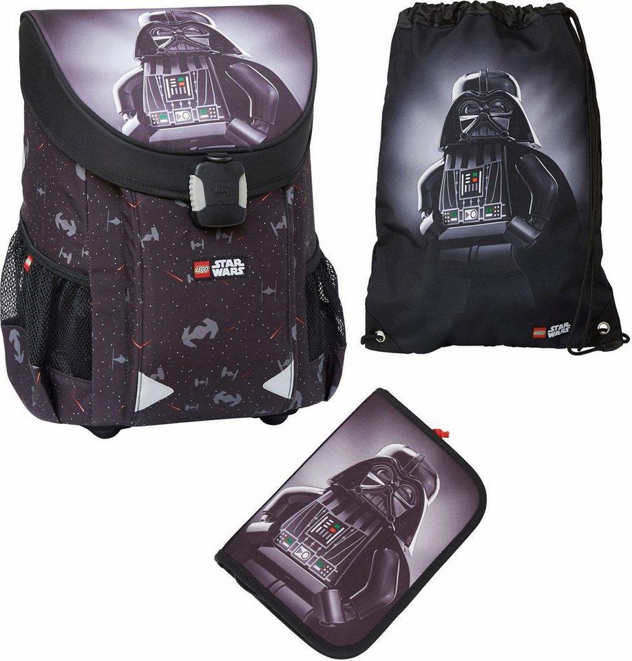LEGO® Schulranzen Set 3-tlg.,  EASY, LEGO® Star Wars™, Darth Vader  online kaufen