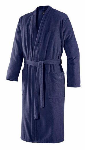 Herrenbademantel »Uni Kimono«, Joop!, in extraflauschiger Qualität