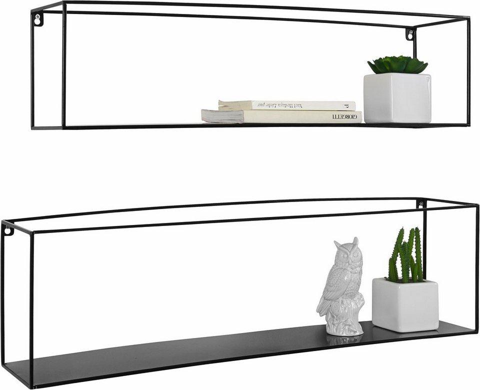 home affaire wand regal franco 2 tlg kaufen otto. Black Bedroom Furniture Sets. Home Design Ideas