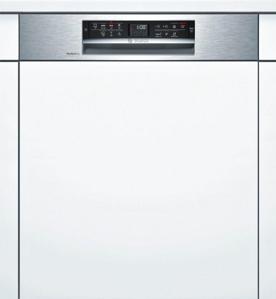 Bosch teilintegrierbarer geschirrspuler serie 6 95 liter for Teilintegrierbarer geschirrspüler