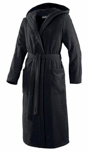 Damenbademantel »Uni Kapuze«, Joop!, in extraflauschiger Qualität