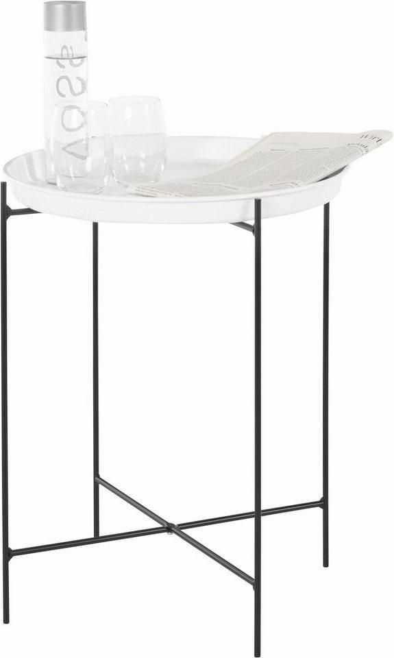 andas beistelltisch mit abnehmbarem tablett im skandinavischen stil online kaufen otto. Black Bedroom Furniture Sets. Home Design Ideas