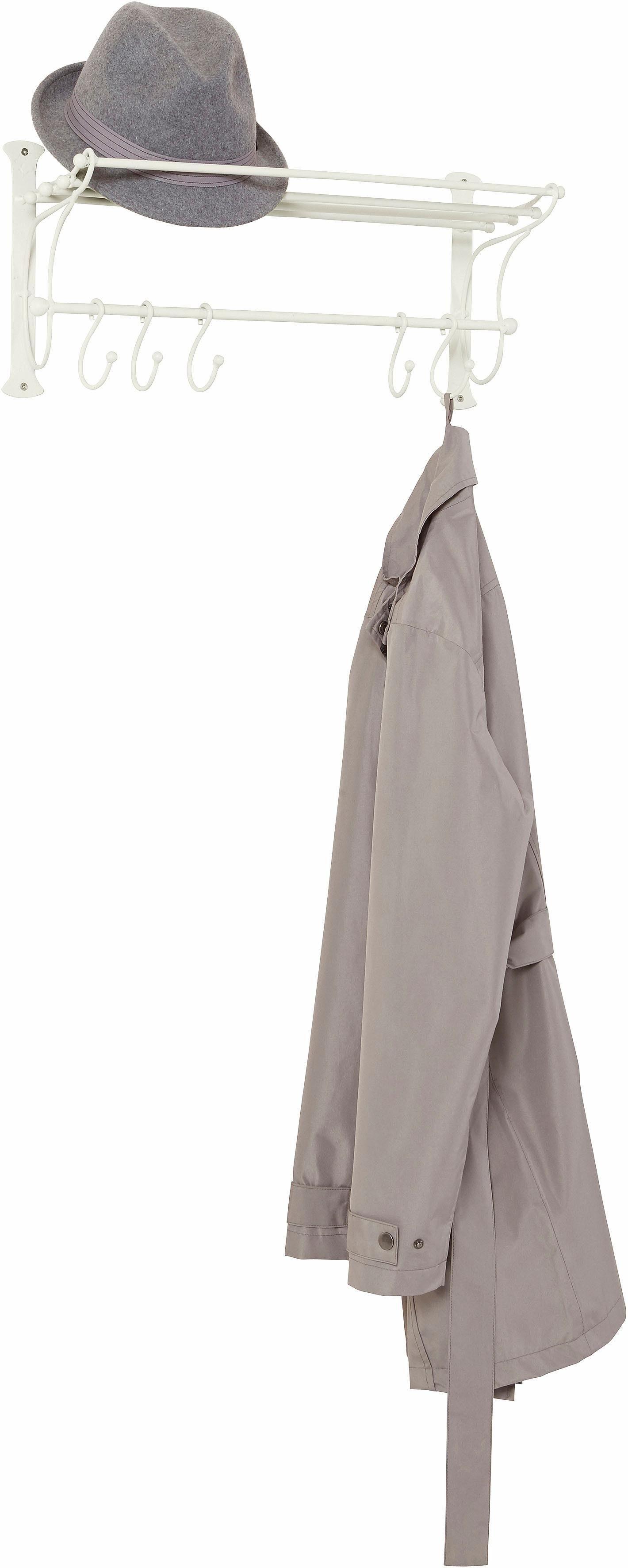 Home affaire Garderobe-Regal mit Haken 54 cm