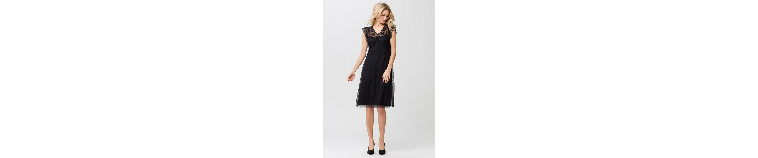 ESPRIT Collection 2-in-1-Kleid, mit Mesh-Überkleid