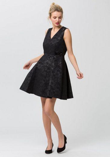 ESPRIT Collection Abendkleid, mit geschlitzten Trägern