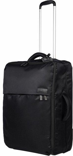 Lipault Weichgepäck-Trolley »Pliable, 65 cm, Black«, 2 Rollen, geräumiger Innenraum | Taschen > Koffer & Trolleys > Trolleys | Lipault