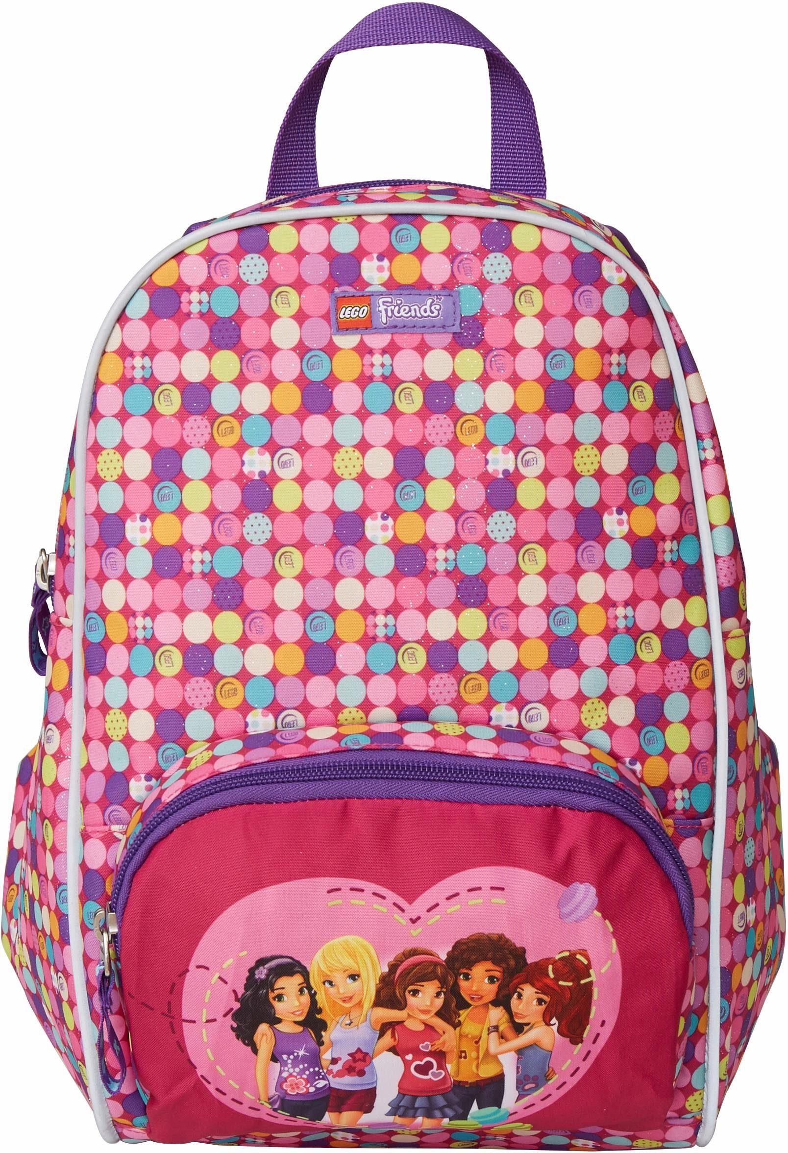 LEGO® Kindergartenrucksack, »Junior, LEGO® Friends, Confetti«