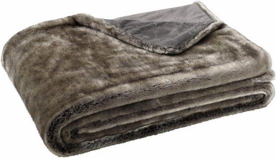 Wohndecke »Fur«, Joop!, in Felloptik