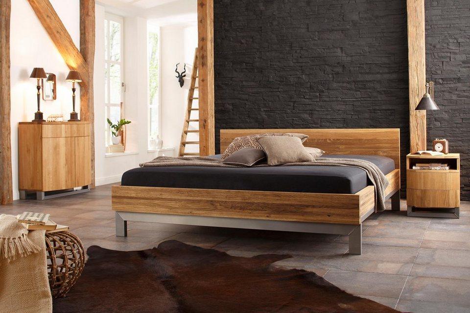 Premium Collection by Home affaire Holzbett »Moora« aus massiver ...