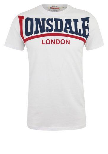 Lonsdale T-Shirt mit großem Frontdruck CREATON