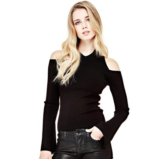 Guess PULLOVER OFFENE SCHULTERN