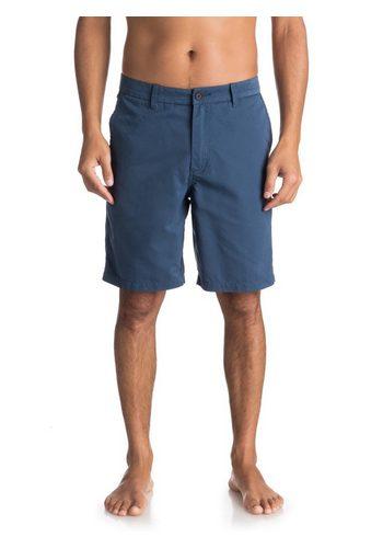 Herren Quiksilver Chino Shorts Waterman Maldive 20 blau | 03613373466037