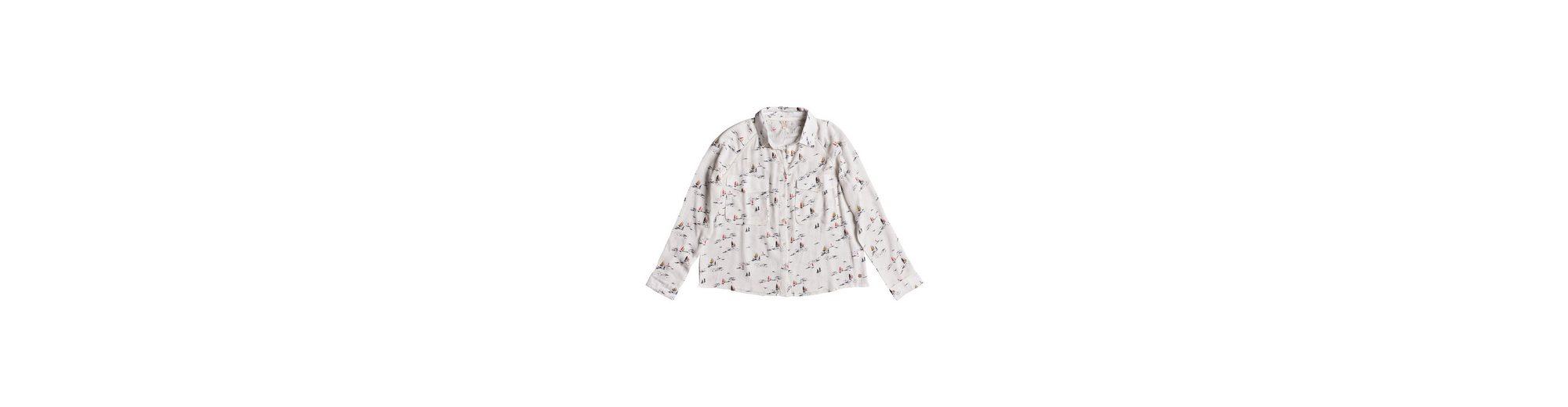 Roxy Langarm-Viskose-Shirt Juvia Rabatt Amazon Top-Qualität Online eSxMe6Pq
