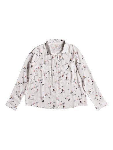 Roxy Langarm-Viskose-Shirt Juvia