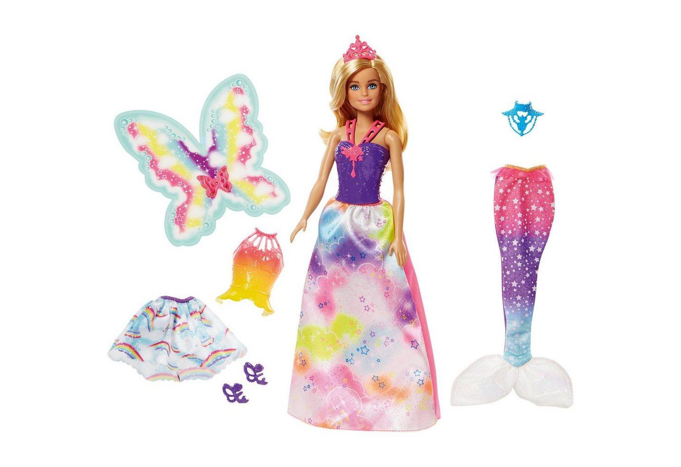 Mattel Barbie Dreamtopia Regenbogen-Königreich 3-in-1 Fantasie Pupp - Preisvergleich
