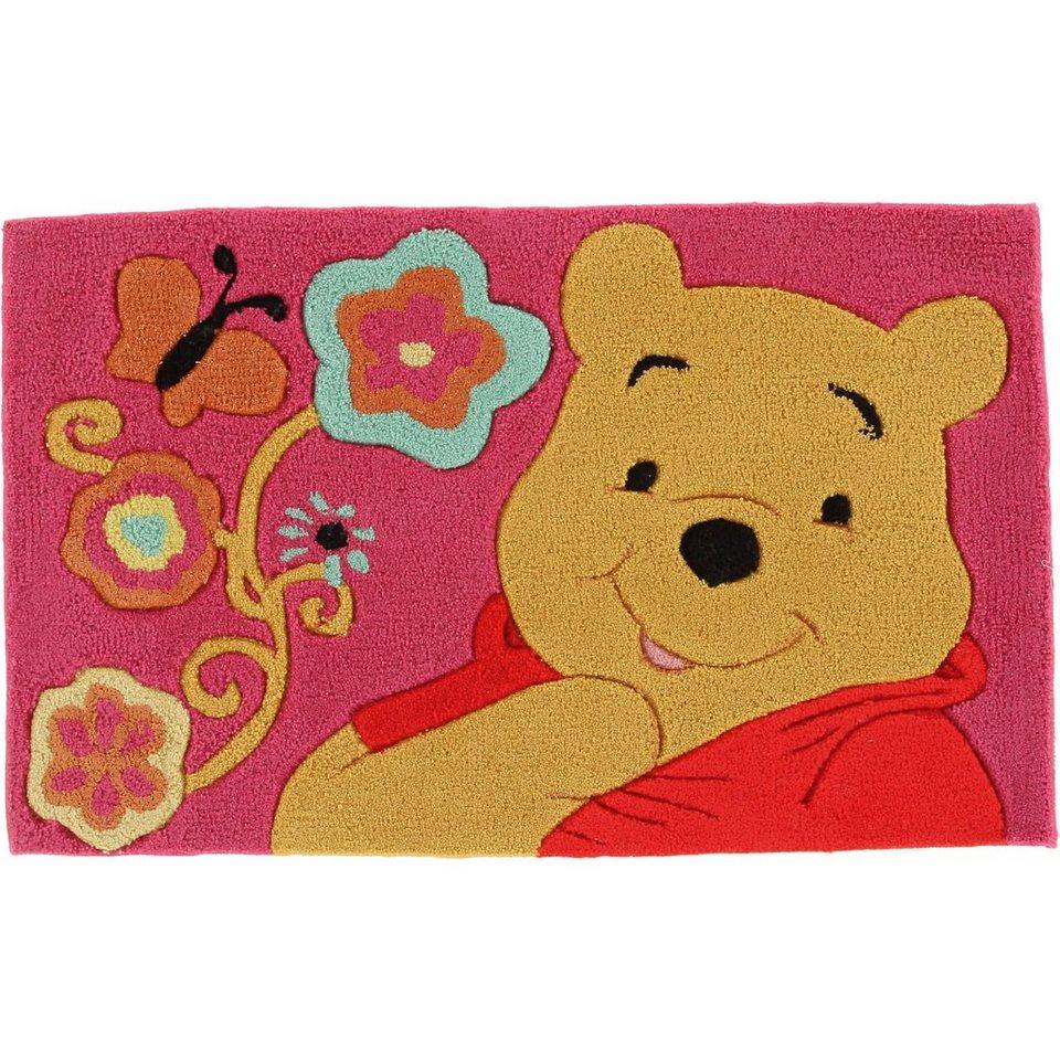 Kinderteppich Winnie Puuh, Schmetterling, 50 x 80 cm online kaufen | OTTO