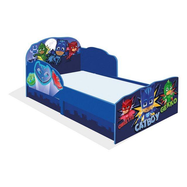 Kinderbetten - WORLDS APART Kinderbett PJ Masks, inkl. Schubladen, 70 x 140 cm » blau  - Onlineshop OTTO