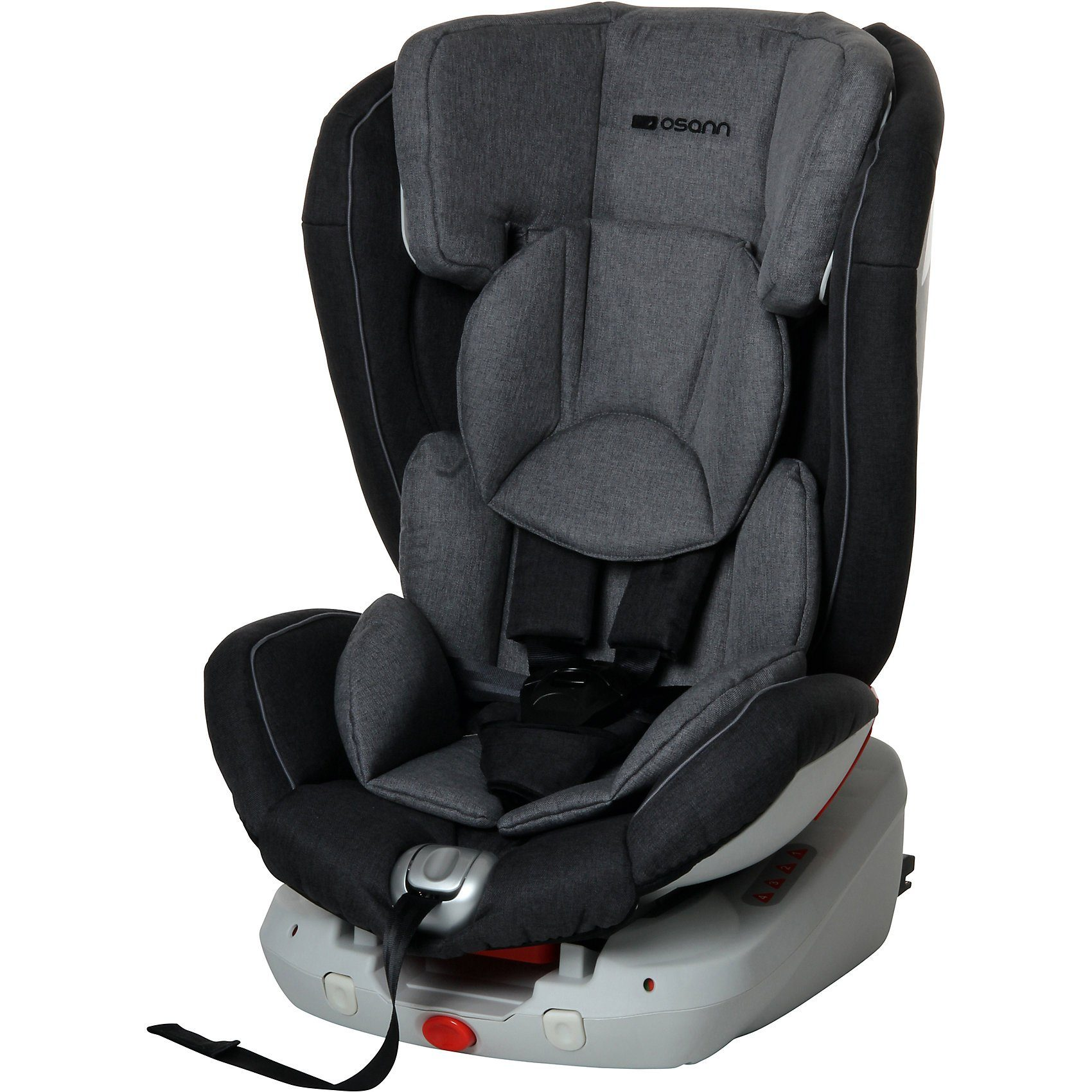 Osann Auto-Kindersitz Safety Trio, Grey Melange, 2018