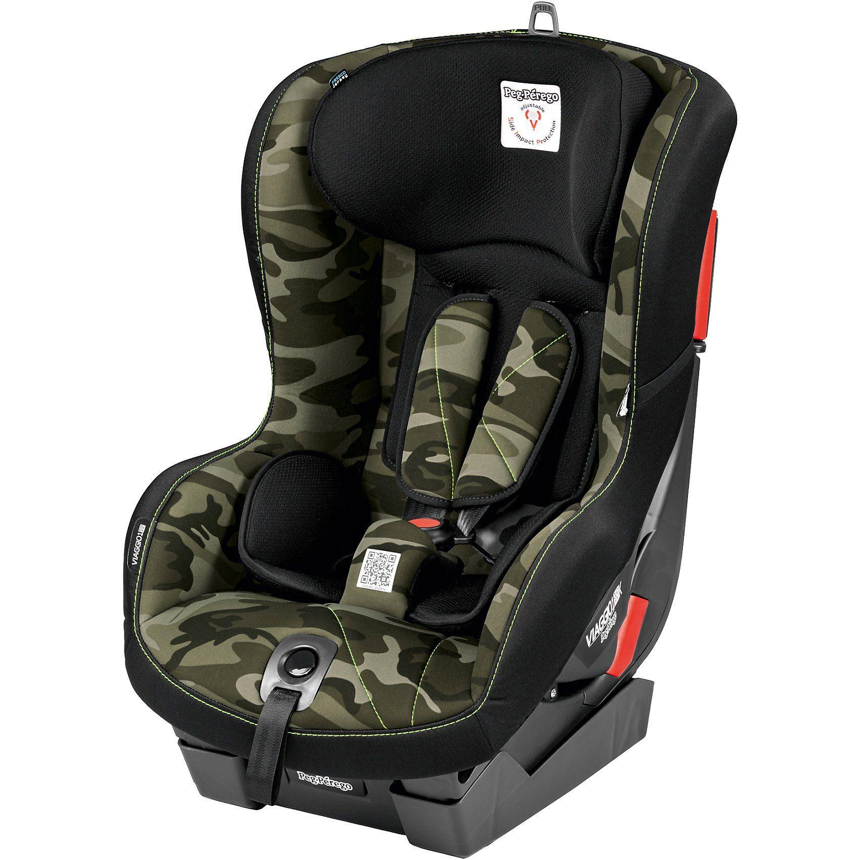 Peg Perego Auto-Kindersitz Viaggio1 Duo-Fix K, Camo Green, 2018