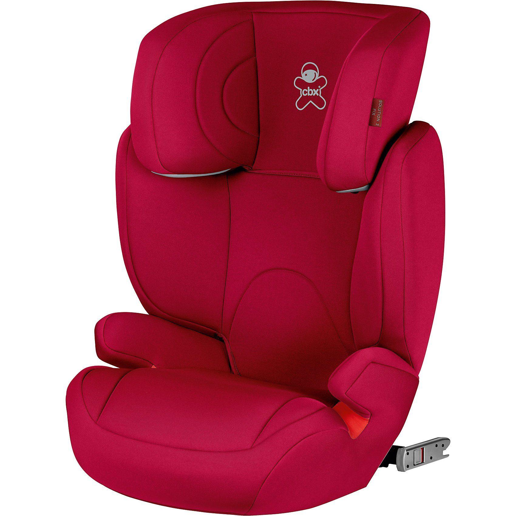 CBX Auto-Kindersitz Solution 2-Fix, Crunchy Red/ red, 2018