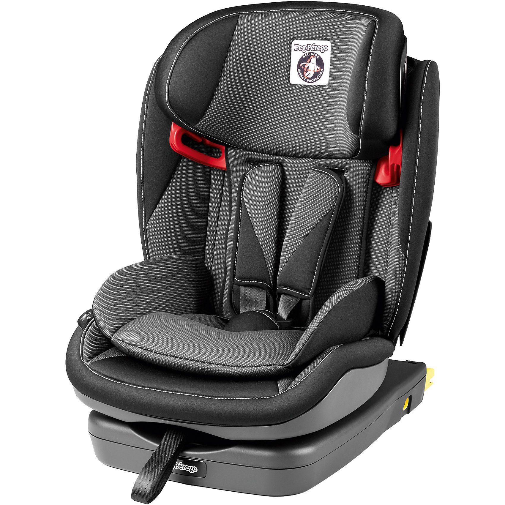 Peg Perego Auto-Kindersitz Viaggio 1-2-3 Via, Crystal Black, 2018