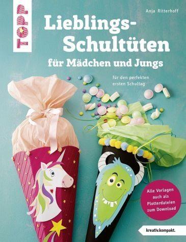 Broschiertes Buch »Lieblingsschultüten für Mädchen und Jungs...«