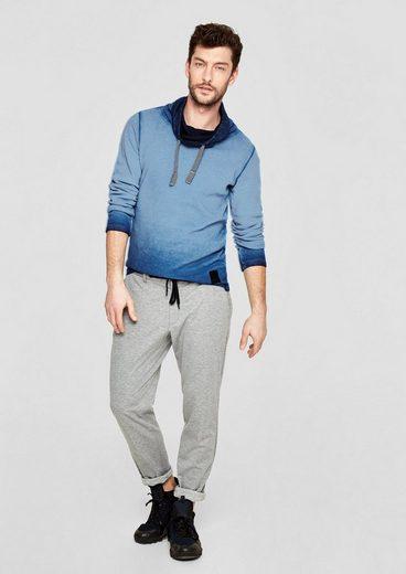 s.Oliver RED LABEL Slim: Piqué-Shirt mit Schalkragen