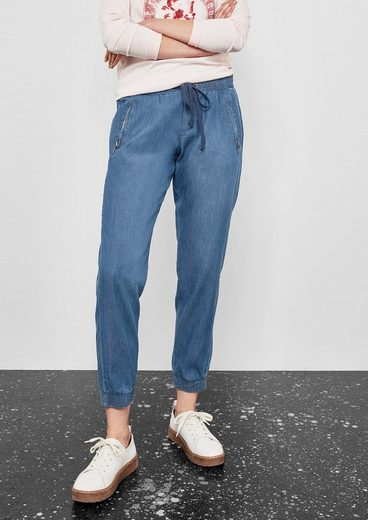 Q/S designed by Gwen Boyfriend: Denim-Jogger
