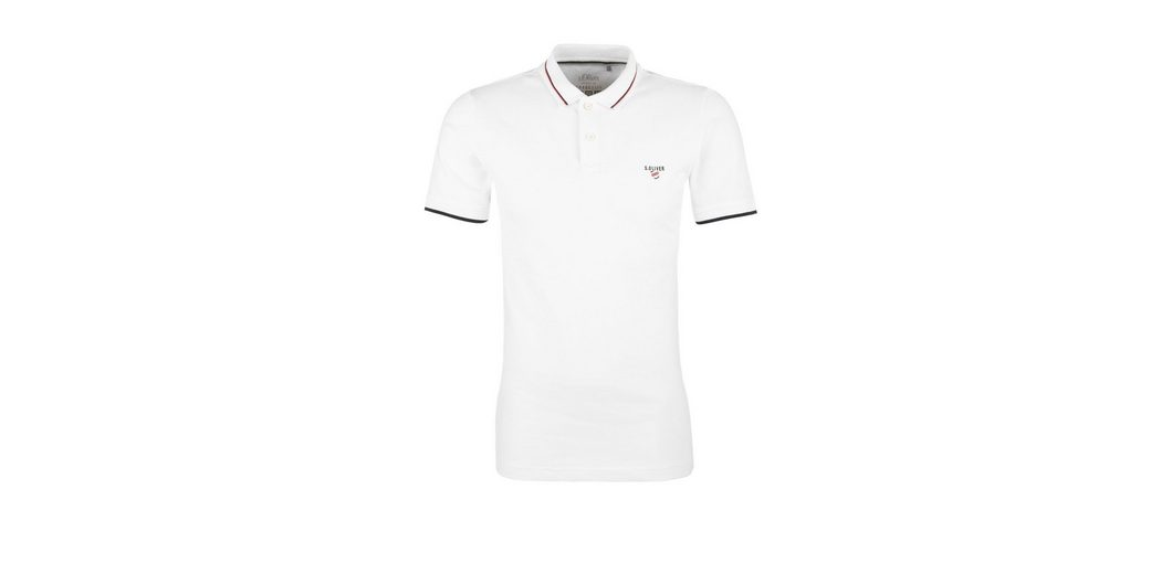 Shop Günstigen Preis s.Oliver RED LABEL Slim: Poloshirt mit Farbakzenten Genießen Freies Verschiffen Großer Verkauf Besuchen Neuen Günstigen Preis Countdown Paket Günstiger Preis 5auSJ3Xna