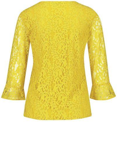 Gerry Weber T-Shirt 3/4 Arm Blusenshirt aus feiner Spitze