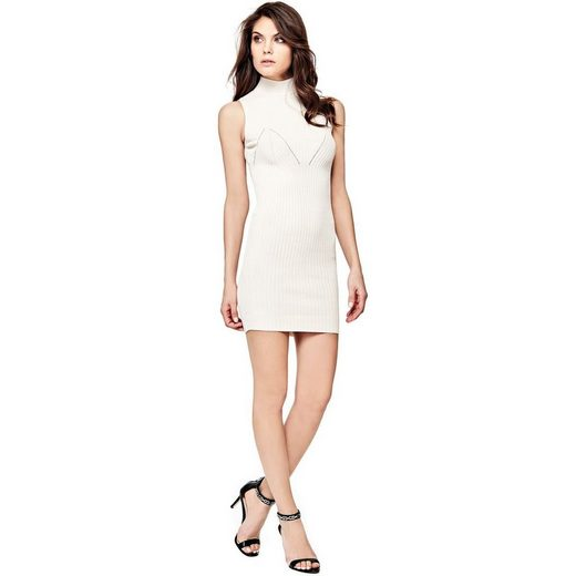 Guess KLEID RIPPENMUSTER