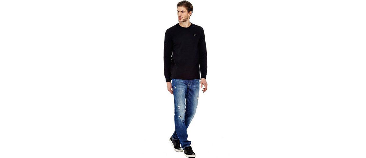 Outlet Großer Rabatt Guess SWEATSHIRT LOGODETAIL Rabatt Mode-Stil Wählen Sie Eine Beste bLlcW