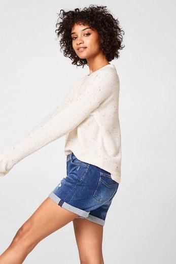 EDC BY ESPRIT Jeans-Shorts aus Stretch-Denim