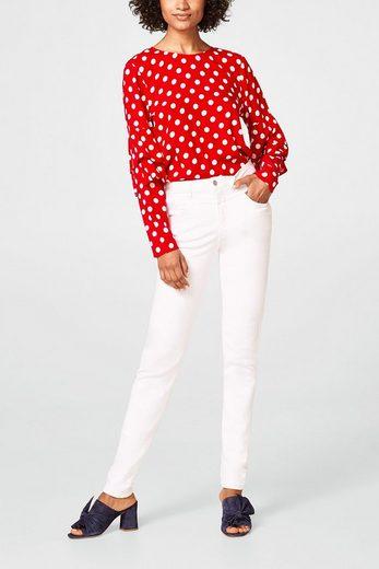 ESPRIT Shaping-Jeans mit hohem Bund