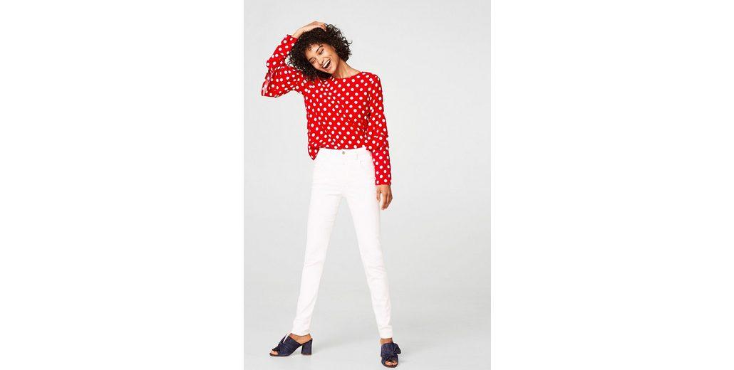 Günstig Kaufen Aus Deutschland ESPRIT Shaping-Jeans mit hohem Bund Günstig Kaufen 2018 Günstig Kaufen Billig 9XEbkCx