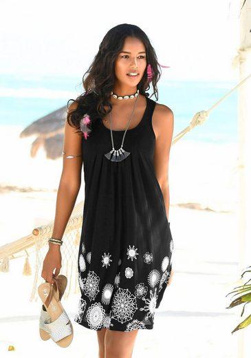Beachtime Strandkleid mit grafischem Druck