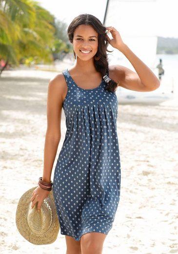 Beachtime Strandkleid mit Ornamentdruck