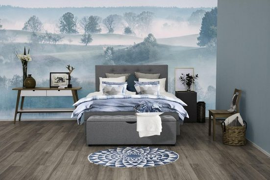 Places of Style Boxspringbett »»Nordica««, inkl. Topper, auch in Überlänge 200/220 cm