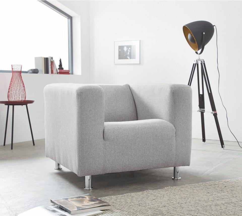 INOSIGN Sessel »Tuba« in moderner, kubischer Form | OTTO