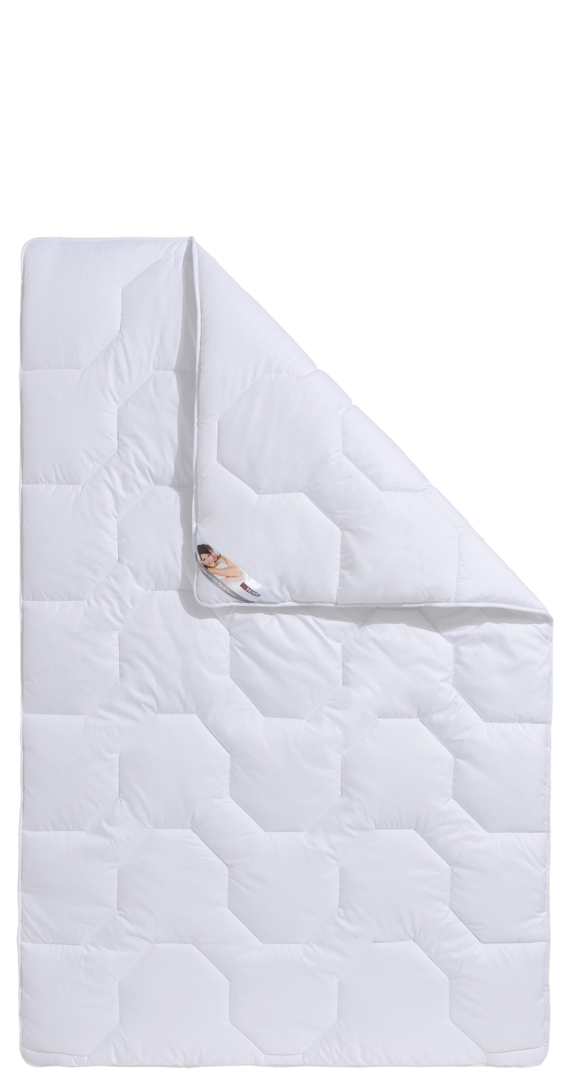 Microfaserbettdecke, »BW70 Kochfest«, my home, warm, Bezug: 100% Baumwolle, (1-tlg) | Heimtextilien > Decken und Kissen > Bettdecken | my home